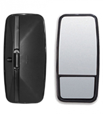 Espelho Retrovisor Avulso Convexo C/ Bifocal Convexo LE P/ MB HPN  - TERRA DE ASFALTO ACESSÓRIOS
