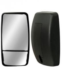 Espelho Avulso Convexo C/ Bifocal Convexo LE/LD P/ Ford Cargo 815E 2013  - TERRA DE ASFALTO ACESSÓRIOS