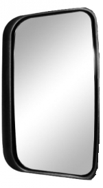 Vidro Espelho Convexo Maior com Moldura P/ SC 124 (S245/A)  - TERRA DE ASFALTO ACESSÓRIOS
