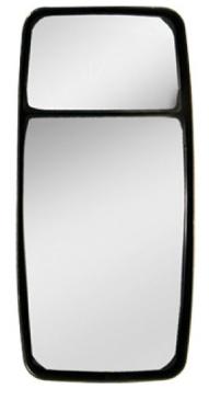 Vidro Espelho Convexo Maior com Moldura P/ Constellation (W906A)  - TERRA DE ASFALTO ACESSÓRIOS