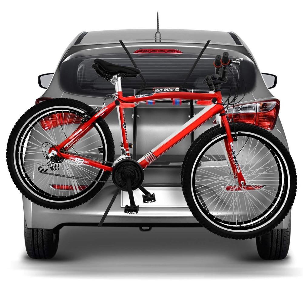 Transportador de Bicicletas para Porta Malas de Carros - Carbike Classic  - TERRA DE ASFALTO ACESSÓRIOS