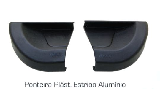 Ponteira De Reposição Estribo Alumínio G2 - Bepo  - TERRA DE ASFALTO ACESSÓRIOS