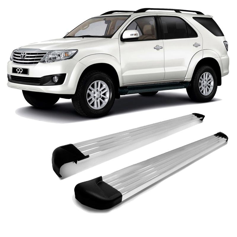 Estribo Lateral Plataforma Alumínio Polido Toyota Sw4 2005 A 2015  - TERRA DE ASFALTO ACESSÓRIOS