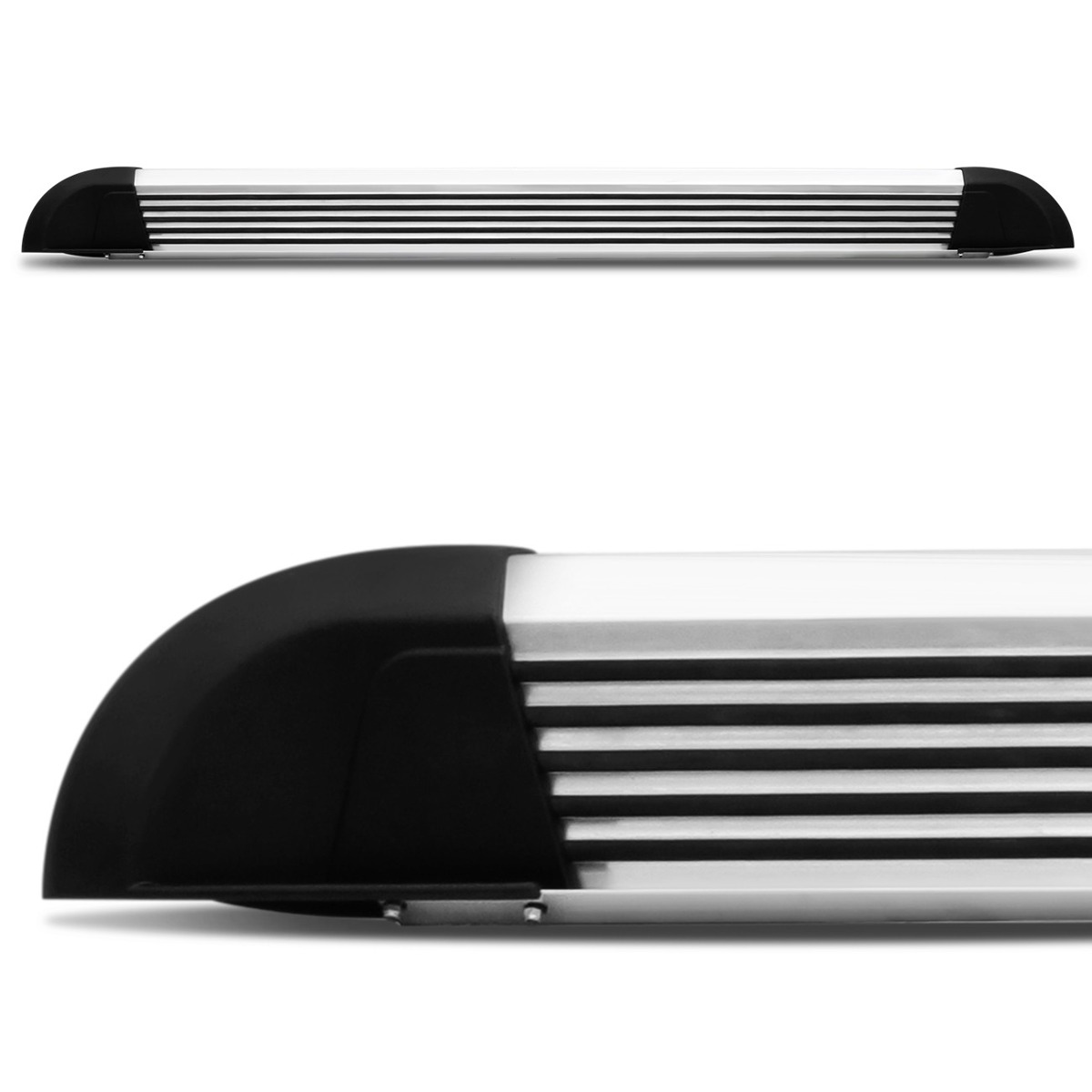 Estribo de alumínio s10 cabine dupla até 2011 - bepo  - TERRA DE ASFALTO ACESSÓRIOS
