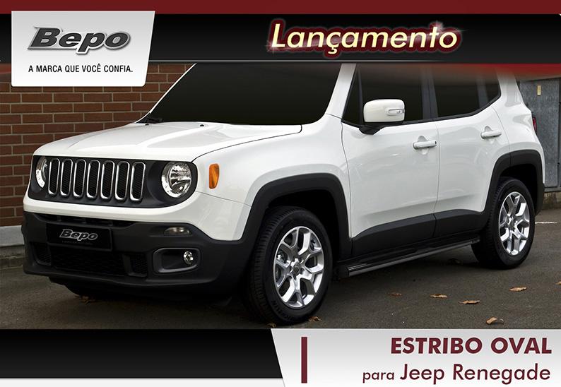 Estribo oval jeep renegade - bepo  - TERRA DE ASFALTO ACESSÓRIOS