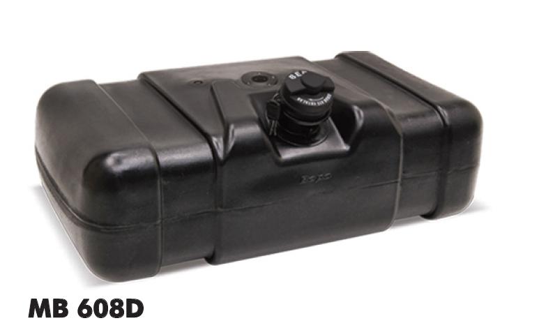 Tanque de combustível plástico 80l  mercedes-benz 608d Bepo  - TERRA DE ASFALTO ACESSÓRIOS