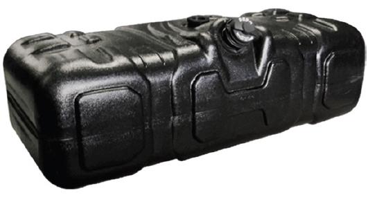 Tanque Combustível Plástico 300l MB axor canavieiro  - TERRA DE ASFALTO ACESSÓRIOS