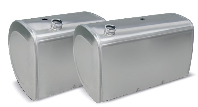Tanque De Combustível Em Alumínio Volvo Fh (Tipo D)  - TERRA DE ASFALTO ACESSÓRIOS
