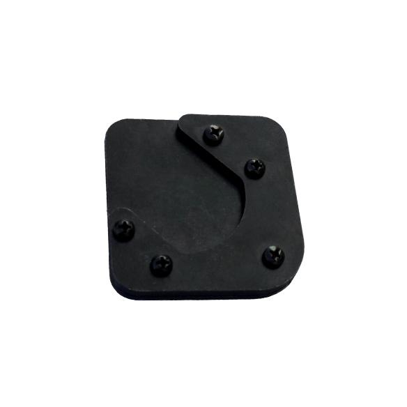 Ampliação da base cavalete lateral bmw f800 gs  - TERRA DE ASFALTO ACESSÓRIOS