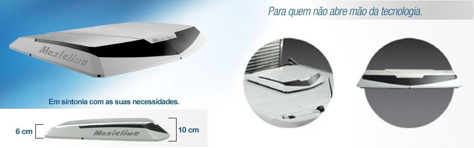 Climatizador de Ar para Caminhao  - Maxiclima - Slim  - TERRA DE ASFALTO ACESSÓRIOS