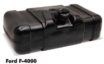 Tanque plástico ford f4000  80 litros bepo  - TERRA DE ASFALTO ACESSÓRIOS