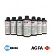 Tintas UV AGFA ARIGI - F2 p/ Rigidos e Flexíveis.