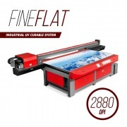 PLOTTER DIGITAL UV FINEFLAT CURABLE KM6