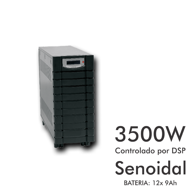 No-break Compact Power 5kVA Dupla Conversão  - Meu Plotter