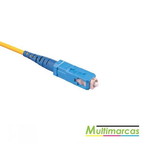 Cabo de fibra ótica 1X - conector quadrado