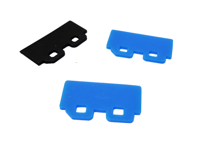 KIT Cabeça de Impressão - 1 Cabeça DX7 + 4 Dampers + 1 Cap TOP + 1 Wiper  - Meu Plotter
