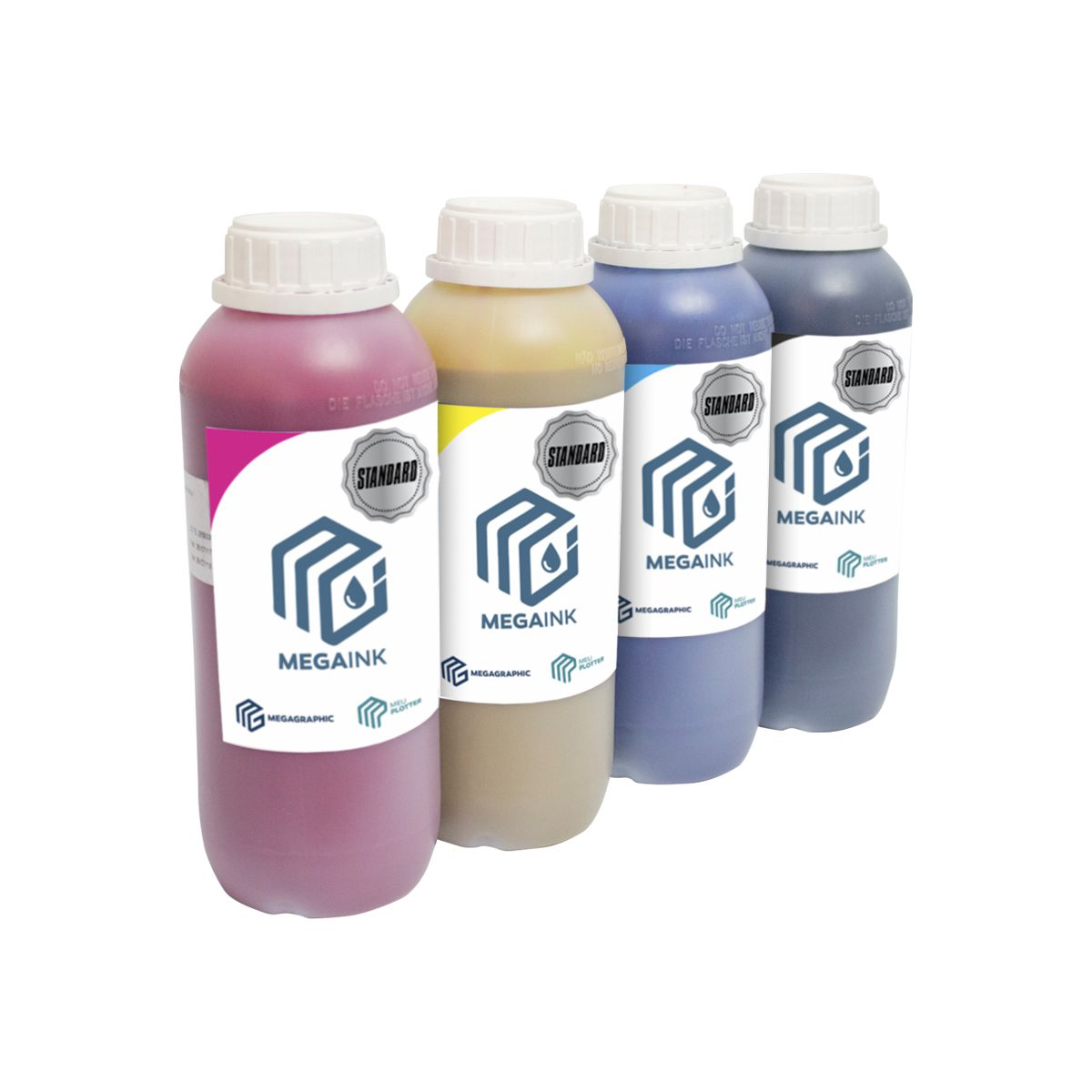 KIT de Tinta ECO Solvente - MP ECO STANDARD CMYK