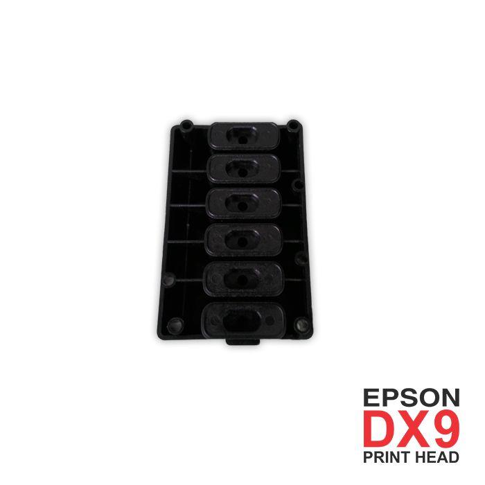 KIT Manutenção DX9 (xp600) CABEÇA + CAP + WIPER + DAMPER  - Meu Plotter