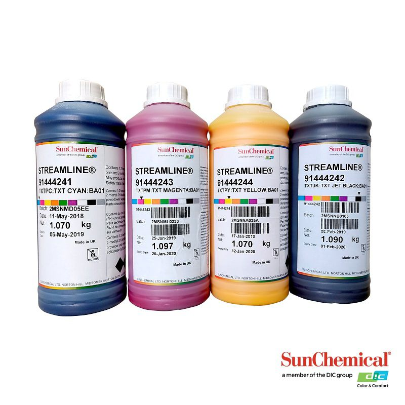 Litro de Tinta Sublimatica Sun Chemical - MP Subli PREMIUM CMYK