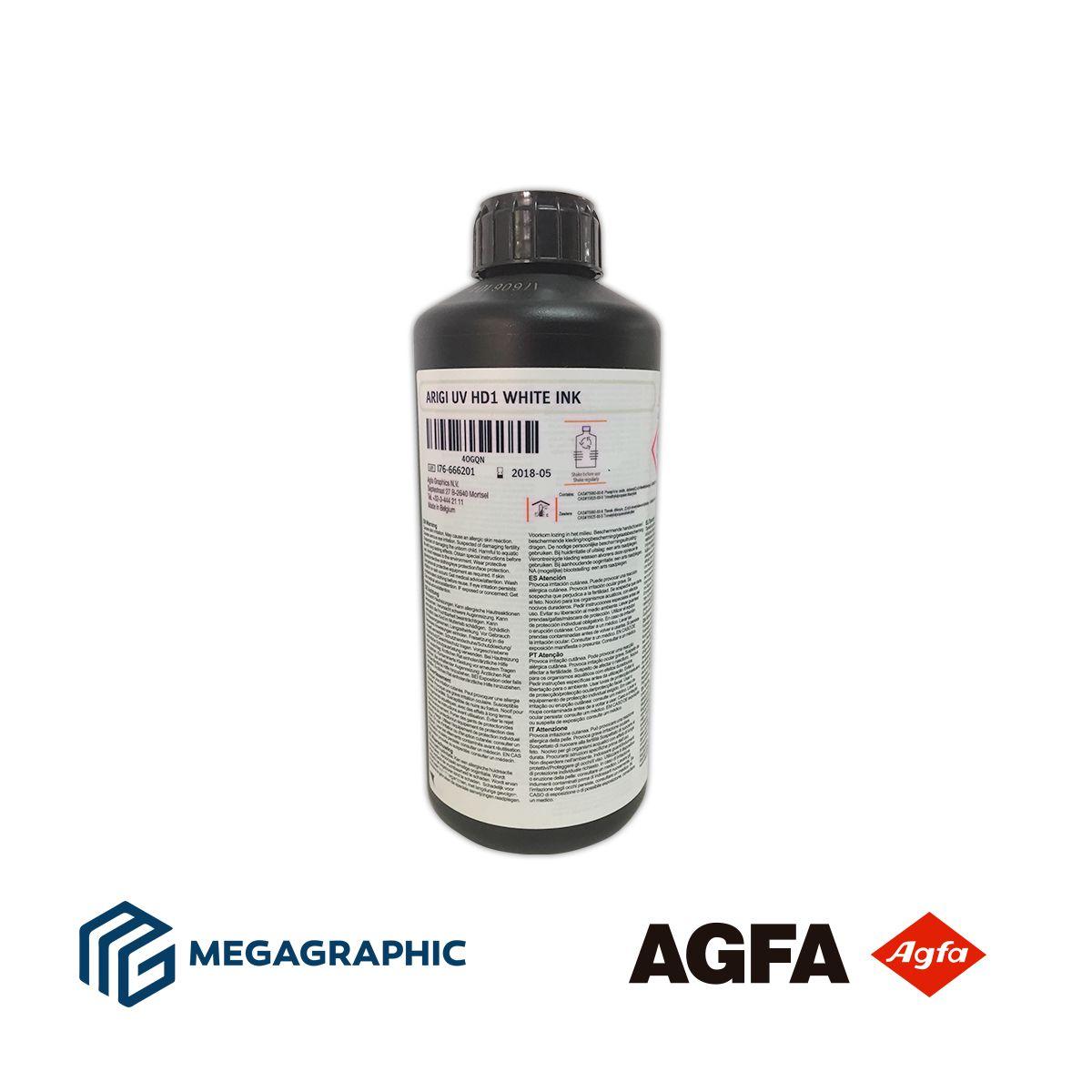 Tintas UV AGFA ARIGI - HD1 p/ Rígidos e Flexíveis.  - Meu Plotter