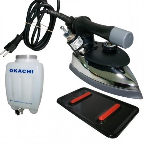 Ferro de passar Profissional 2,100 kg Okachi - Leve