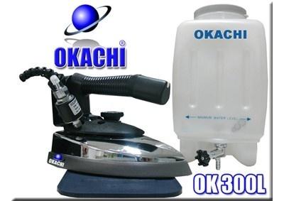 Ferro de passar Profissional 2,500 kg Okachi - Pesado