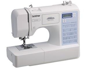 Máquina de costura eletrônica BROTHER CE 5500 com 50 pontos