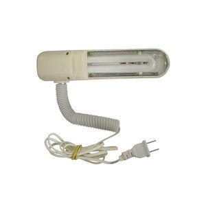 Luminária com lampada fluorescente