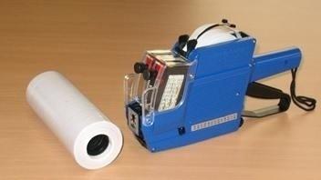 Etiquetas de 2 linhas MX 6600 - Pacote com 10.000