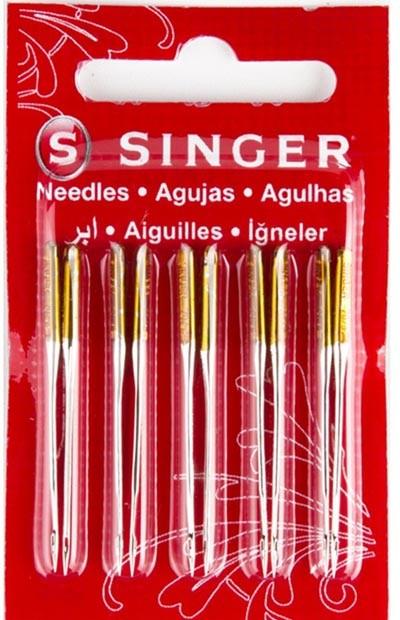 Agulha SINGER 2045 Malhas e tecidos Elásticos