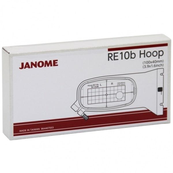 Bastidor de Bolso para JANOME MC 500E 10x4 cm. RE10b