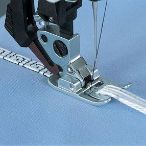 Calcador para aplicar cordões com 5 furos - aplique até 5 cordões