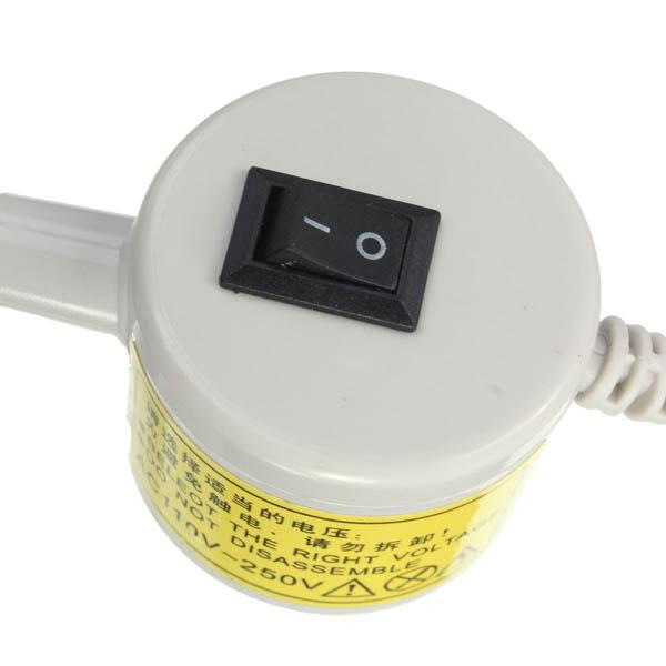 Luminária 20 Leds com Dimmer para controlar a intensidade de Luz, imã e chave de ligação