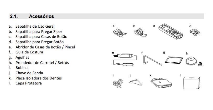 Máquina de Costura SINGER Simple 3232 - 31 Pontos e 1 Caseado automático