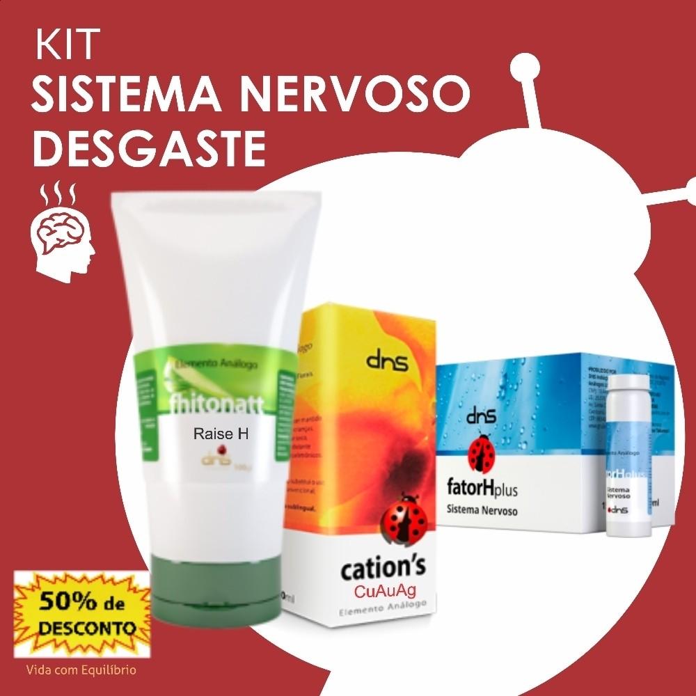 Kit Sistema Nervoso Desgaste  - MagnePhoton