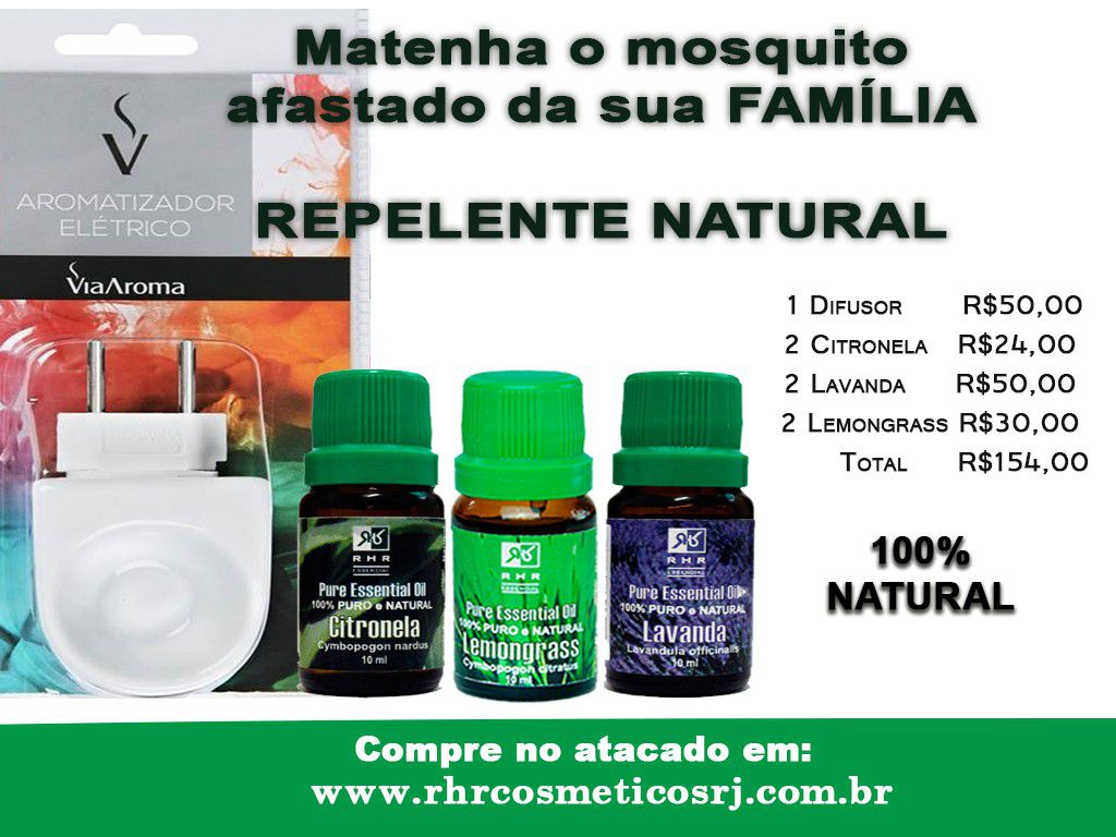 Kit Repelente Natural  - MagnePhoton