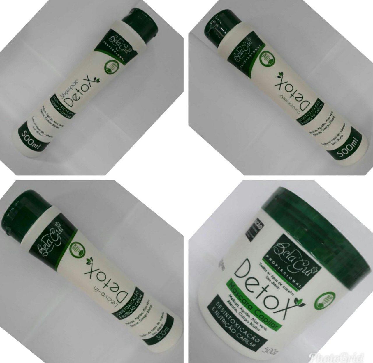 Kit Tratamento Capilar Profissional Detox  - MagnePhoton