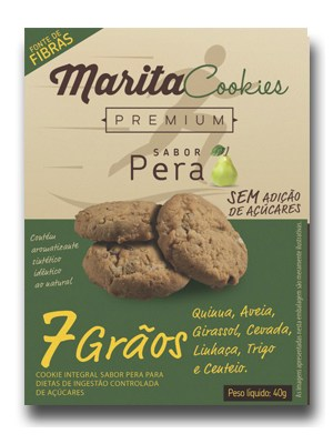 Marita Cookies Pera com 7 grãos  - MagnePhoton