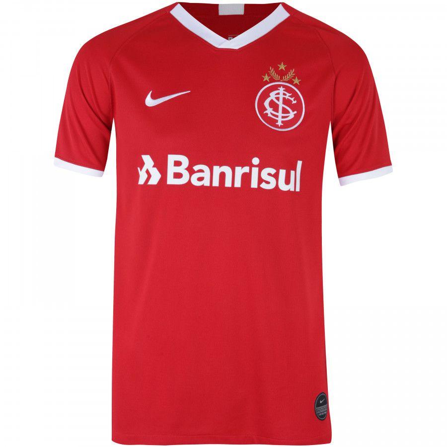 Camiseta Internacional Vermelha Oficial I Nike AJ5563-611
