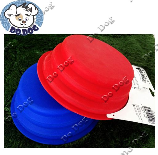Comedouro Portátil de Silicone  - Do Dog