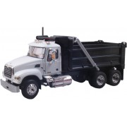 Caminhão Mack Granite White/Black Dump Truck ( 600177 )