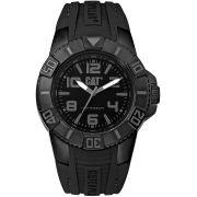 Relógio CATERPILLAR Bondi preto pulseira de silicone ( LD11121125 )
