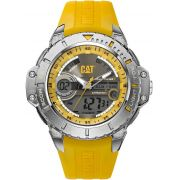Relógio CATERPILLAR Anadigit pulseira de borracha amarela ( MA15527137 )