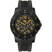 Relógio CATERPILLAR PV1 pulseira de borracha preta ( PV16921117 )