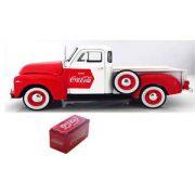 Chevy Pickup 1953 Coca-Cola com Cooler Promocional ( M440664 )