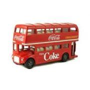 Routemaster Londres Ônibus de dois andares Coca-Cola ( M464001 )