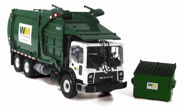 Caminh 227 O De Lixo Waste Management Mack 180 Gest 227 O De Res 237 Duos
