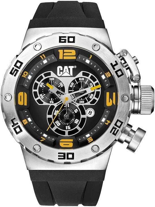 5434c38dbd3 Relogio CATERPILLAR DS49 Cronografo Silicone DS14321127 ...
