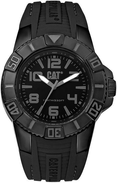 2d96f335e41 Relógio CATERPILLAR Bondi preto pulseira de silicone ( LD11121125 ...