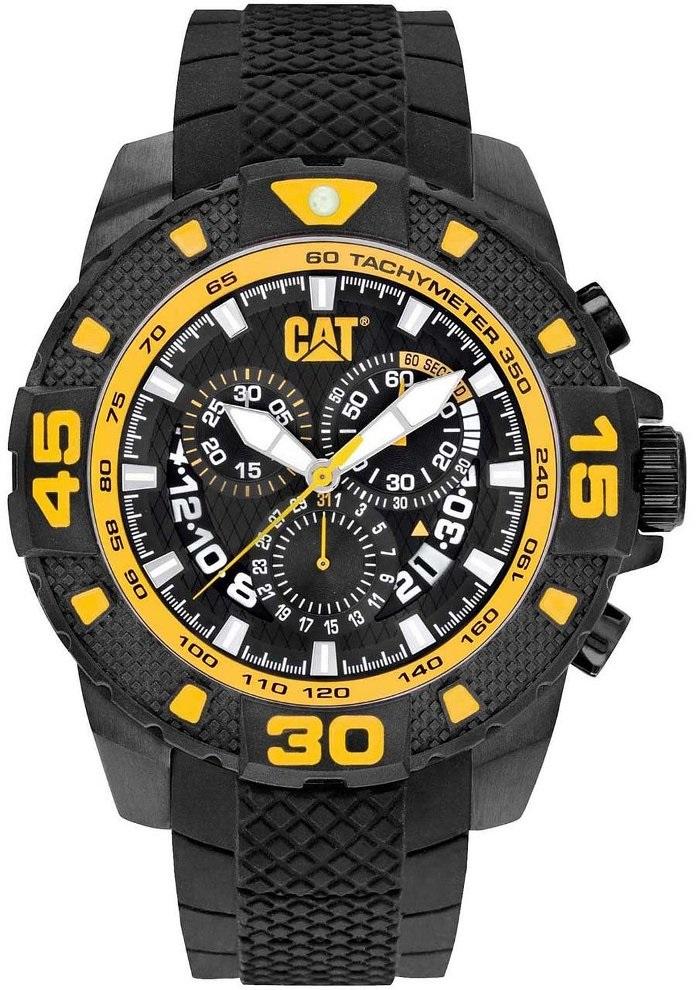 008643b53ff Relogio CATERPILLAR DP Sport black Chronograph PT16321127 ...